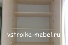 Шкаф на балкон 980*550*2500 (Ш*В*Г) 12000 р. ЛДСП - Дуб Молочный