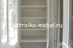 Шкаф на балкон. 750*560*2500 (Ш*Г*В) 12000 р.  ЛДСП - Северное Дерево Светлое